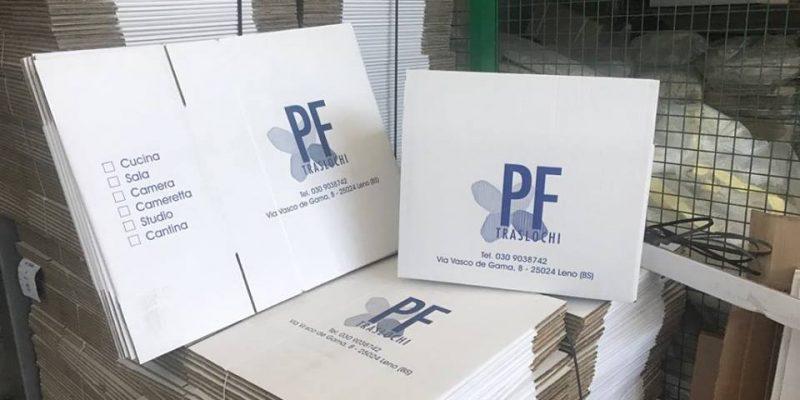 Magazzino Stoccaggio Merci Brescia Cartoni Per Imballaggio Pf Traslochi