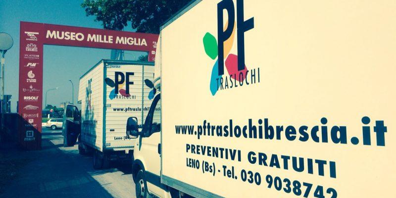 Montaggio Stand Brescia Mille Miglia Pf Traslochi