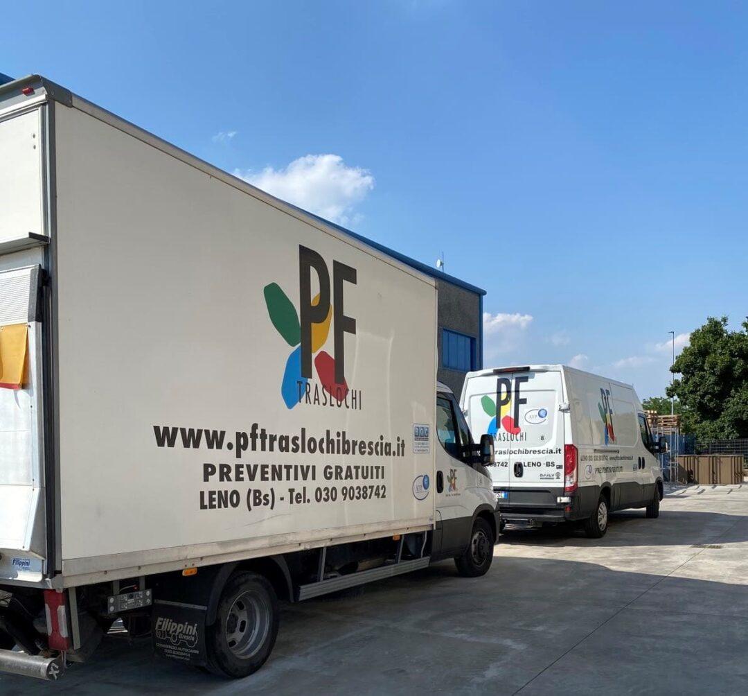 noleggio furgone con autista- Brescia e provincia